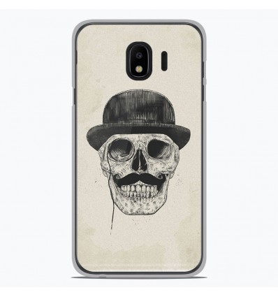 Coque en silicone pour Samsung Galaxy J4 2018 - BS Class skull