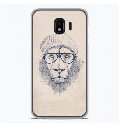 Coque en silicone pour Samsung Galaxy J4 2018 - BS Cool Lion