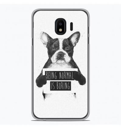 Coque en silicone pour Samsung Galaxy J4 2018 - BS Normal boring