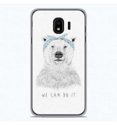 Coque en silicone Samsung Galaxy J4 2018 - BS We can do it