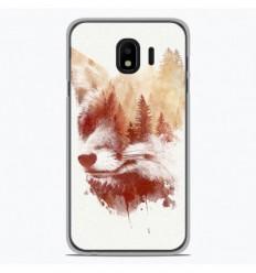 Coque en silicone Samsung Galaxy J4 2018 - RF Blind Fox