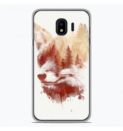 Coque en silicone Samsung Galaxy J4 2018 - RF Blind Fox