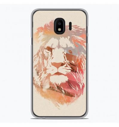 Coque en silicone pour Samsung Galaxy J4 2018 - RF Desert Lion