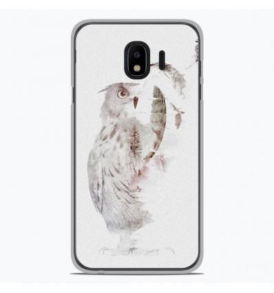 Coque en silicone Samsung Galaxy J4 2018 - RF Fade Out