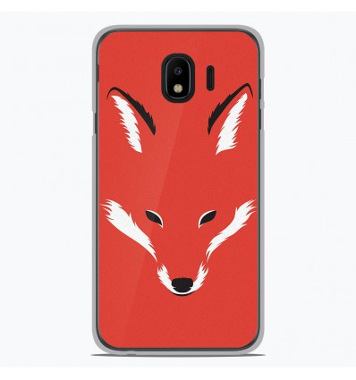 Coque en silicone Samsung Galaxy J4 2018 - RF Foxy Shape