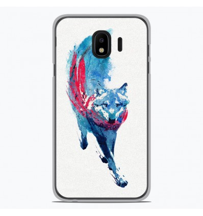 Coque en silicone pour Samsung Galaxy J4 2018 - RF Lupus Lupus