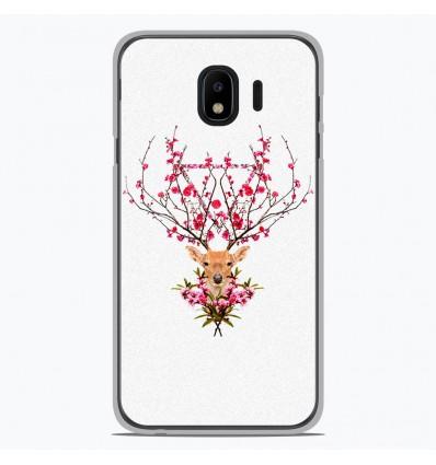 Coque en silicone pour Samsung Galaxy J4 2018 - RF Spring deer