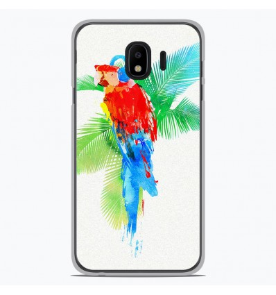 Coque en silicone Samsung Galaxy J4 2018 - RF Tropical party