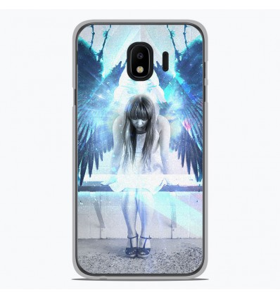 Coque en silicone pour Samsung Galaxy J4 2018 - Angel