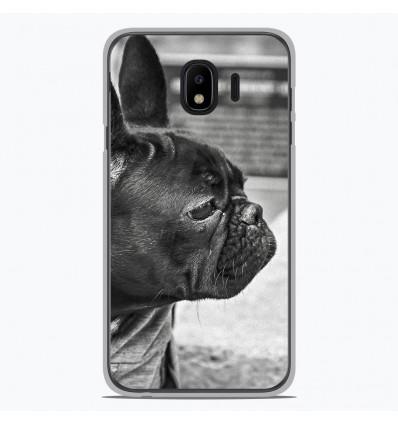Coque en silicone pour Samsung Galaxy J4 2018 - Bulldog