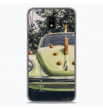 Coque en silicone pour Samsung Galaxy J4 2018 - Coccinelle