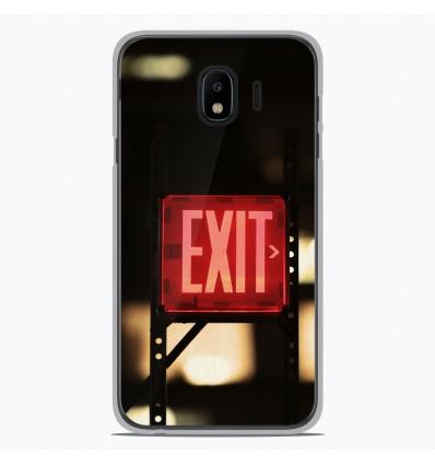 Coque en silicone pour Samsung Galaxy J4 2018 - Exit