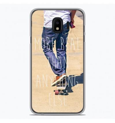 Coque en silicone pour Samsung Galaxy J4 2018 - Real
