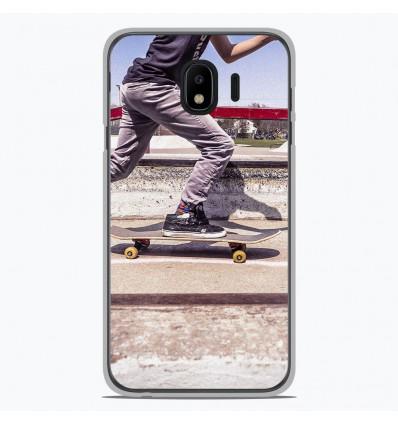 Coque en silicone Samsung Galaxy J4 2018 - Skate