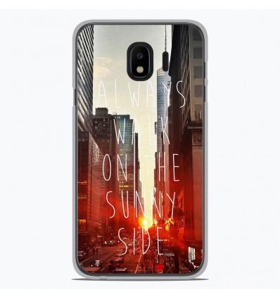 Coque en silicone pour Samsung Galaxy J4 2018 - Sunny side
