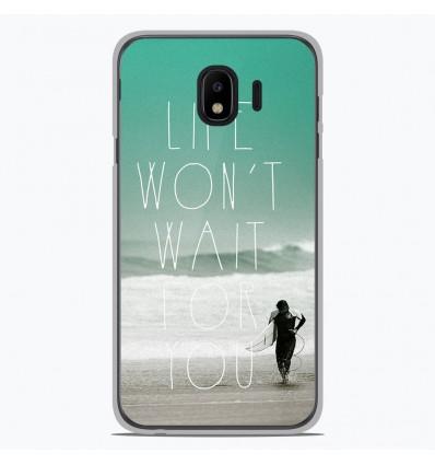 Coque en silicone pour Samsung Galaxy J4 2018 - Surfer