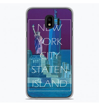 Coque en silicone Samsung Galaxy J4 2018 - New york