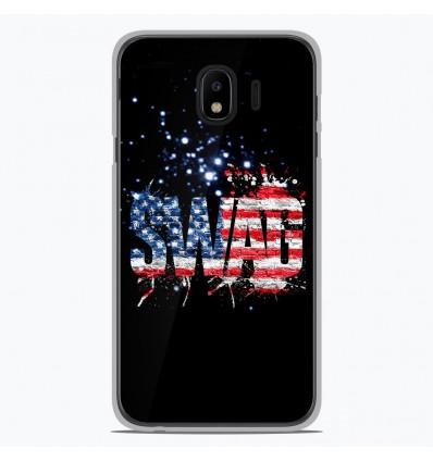 Coque en silicone Samsung Galaxy J4 2018 - Swag usa