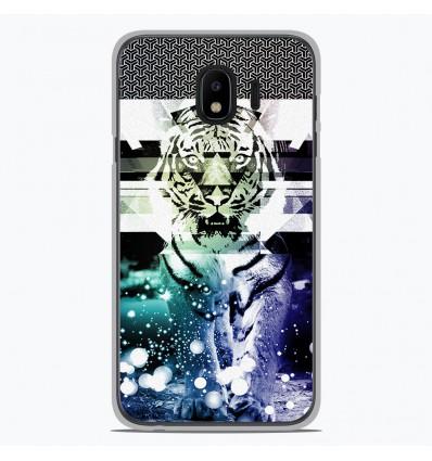 Coque en silicone Samsung Galaxy J4 2018 - Tigre swag