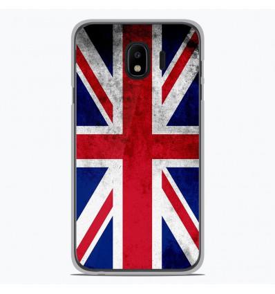 Coque en silicone pour Samsung Galaxy J4 2018 - Drapeau Angleterre