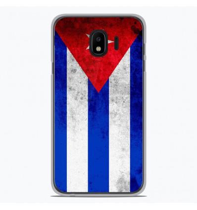Coque en silicone pour Samsung Galaxy J4 2018 - Drapeau Cuba