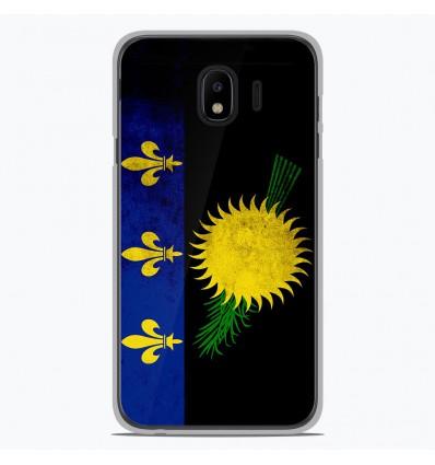 Coque en silicone pour Samsung Galaxy J4 2018 - Drapeau Guadeloupe