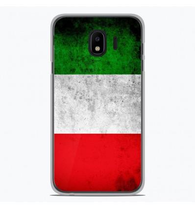 Coque en silicone Samsung Galaxy J4 2018 - Drapeau Italie