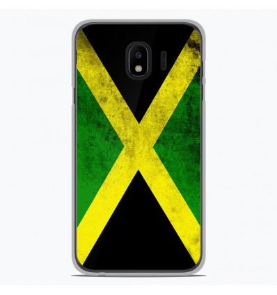 Coque en silicone Samsung Galaxy J4 2018 - Drapeau Jamaïque