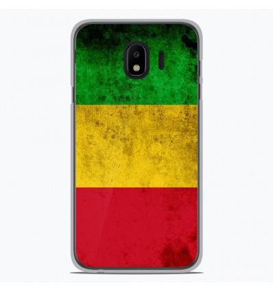 Coque en silicone Samsung Galaxy J4 2018 - Drapeau Mali