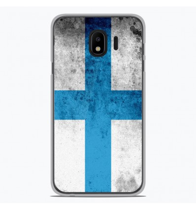 Coque en silicone pour Samsung Galaxy J4 2018 - Drapeau Marseille