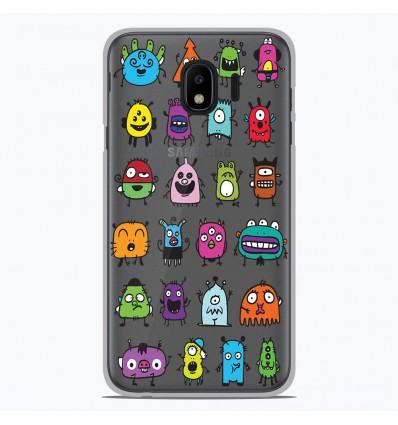 Coque en silicone Samsung Galaxy J4 2018 - Alien