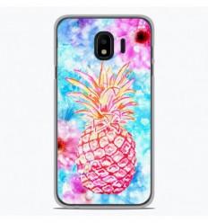 Coque en silicone Samsung Galaxy J4 2018 - Ananas