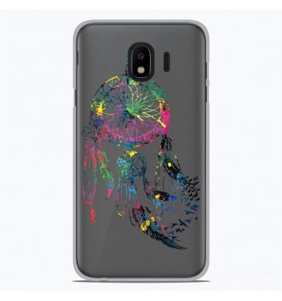Coque en silicone Samsung Galaxy J4 2018 - Dreamcatcher Gris