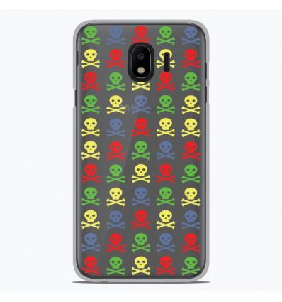 Coque en silicone Samsung Galaxy J4 2018 - Skull Couleur