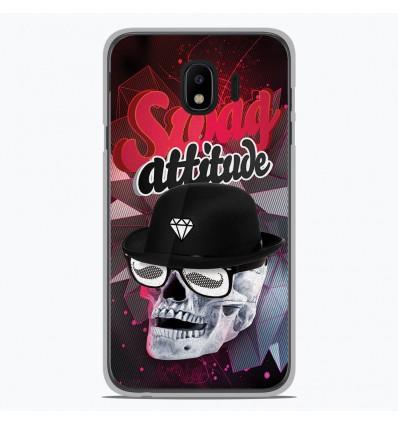 Coque en silicone pour Samsung Galaxy J4 2018 - Swag Attitude