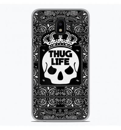 Coque en silicone Samsung Galaxy J4 2018 - Thuglife