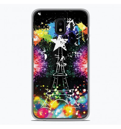 Coque en silicone Samsung Galaxy J4 2018 - Tour Eiffel