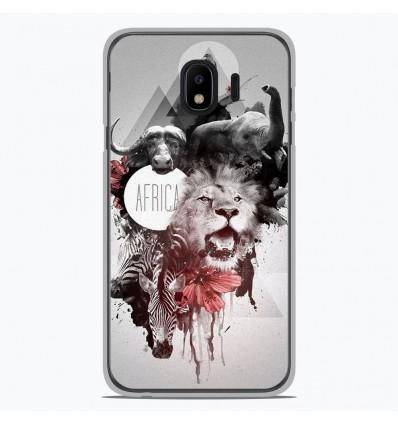 Coque en silicone pour Samsung Galaxy J4 2018 - Africa Swag