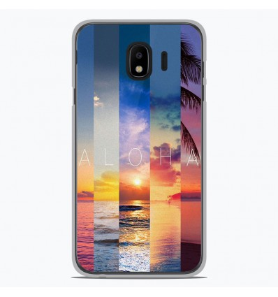 Coque en silicone Samsung Galaxy J4 2018 - Aloha