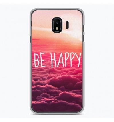 Coque en silicone pour Samsung Galaxy J4 2018 - Be Happy nuage