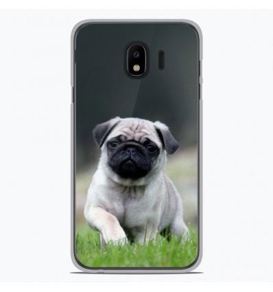Coque en silicone Samsung Galaxy J4 2018 - Bulldog français