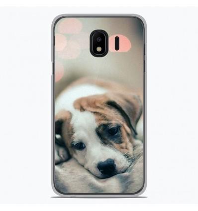 Coque en silicone Samsung Galaxy J4 2018 - Chiot rêveur