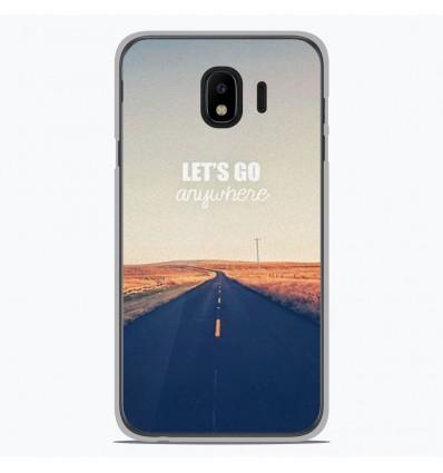 Coque en silicone Samsung Galaxy J4 2018 - Citation 03