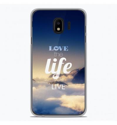 Coque en silicone pour Samsung Galaxy J4 2018 - Citation 06