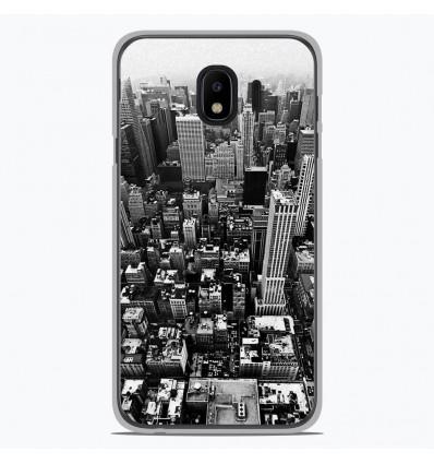 Coque en silicone pour Samsung Galaxy J4 2018 - City