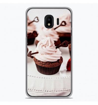 Coque en silicone pour Samsung Galaxy J4 2018 - Cup Cake