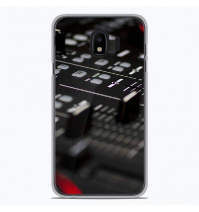 Coque en silicone Samsung Galaxy J4 2018 - Dj Mixer