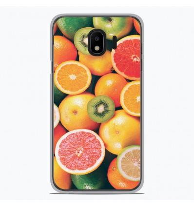 Coque en silicone pour Samsung Galaxy J4 2018 - Fruits