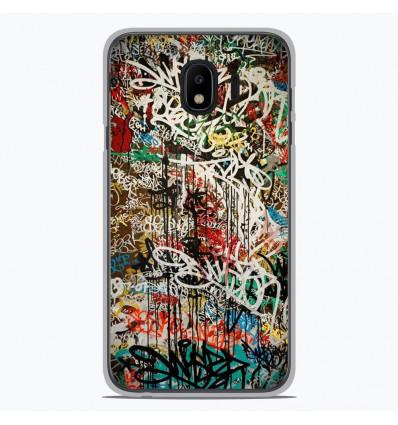 Coque en silicone pour Samsung Galaxy J4 2018 - Graffiti 1