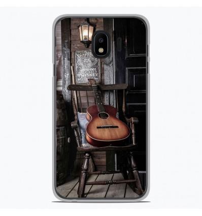 Coque en silicone Samsung Galaxy J4 2018 - Guitare